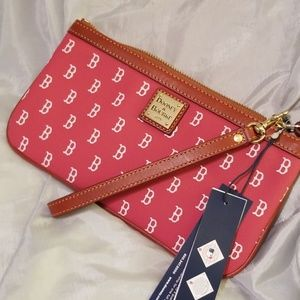 Dooney and Bourke Red Sox wristlet